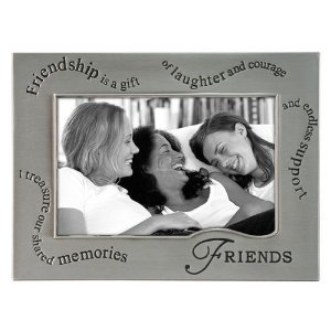 Friends Picture Frame Wavy Words