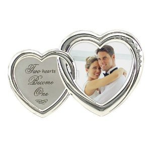 Romantic Two Hearts Silver Love
